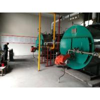 China Three Pass Industrial Steam Boilers Gas Fired Hot Water Boiler For Pharmaceutical Industry on sale