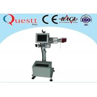 Buy cheap 30W Metal Laser Marker / Portable Laser Marking Machine For Ceramic , Head Adjustabe product