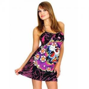 China ED Hardy Women's Beautiful Ghost Dress on sale
