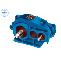 Quality Cylindrical Gear Reducer Gearbox with Ratio from 8 / 1 to 50 / 1 ZQA Series for sale