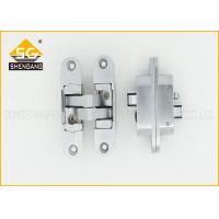 Quality Zinc Alloy 3D Adjustable Invisible Door Hinges For Interior Door Thickness 30mm/40mm for sale