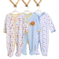 Buy Unisex Romper Newborn Baby Bodysuits 100% Cotton Baby Bubble Romper Infant Baby Romper at wholesale prices