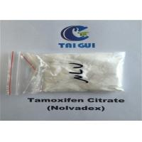 Buy Tamoxifen Citrate / Nolvadex Crystalline Raw Steroid Powders Semi - Finshed Injection 20mg/ml at wholesale prices