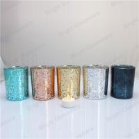 China Customized Decoration Candle Container for Home/ Wedding/ Christmas on sale