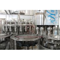 Quality Low Foam Dosing Hot Juice Filling Machine With Long Tube PET Bottle Filler for sale