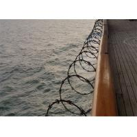 China Fence CBT65 Razor Concertina Barbed Wire For United Kingdom Of 304 Stainless Steel on sale