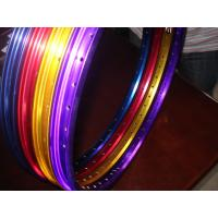 Quality Power Coating Color Aluminum Bicycle Wheel With Water Trasfer Priting Design ISO9001 for sale