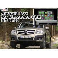 Quality 1.6 GHz quad core Mercedes benz GLK gps navigator android mirrorlink rearview video play for sale