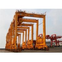 Quality Double Girder 	Port Gantry Crane Rubber Tyred For Unloading Containers 35T for sale