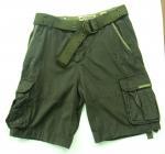 Quality Carg Shrots/Bermuda With Belt (AF-108) for sale