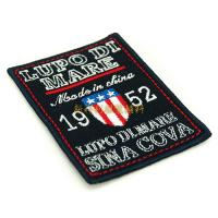 China Eco Friendly Clothing Embroidered Patches , Iron On Embroidered Patches For Clothes on sale