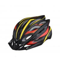 Quality Custom Adult Bicycle Helmet / Light Weight Mountain Cycling Helmet With Visor for sale
