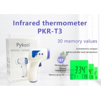 Quality Family Hospital Non Touch Digital Ir Infrared Thermometer for sale