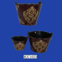 Quality Glazed Flower Pot (MJC1023) for sale