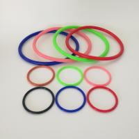 China Custom Silicone Rubber Gasket Seal , Colorful Rubber O Rings For Sealing on sale