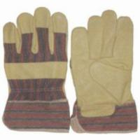 Quality Pig Grain Leather Working Gloves for sale