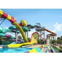 Quality Theme Park Funny Dubai Water Slide , Professional Water Park Boomerang Water Slide for sale