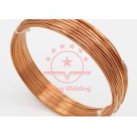 China Salt Bath Brazing Copper Capillary Tube For Compression Engine 500 - 6000mm Length on sale