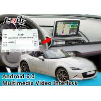 Quality Mazda MX-5 Car Multimedia Navigation System Car Black Box With WIFI BT for sale