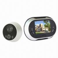 Quality Best Seller Digital Door Eye Viewer with 3.5-inch LCD Screen, 0.3 Megapixels for sale