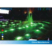 Quality Tempered / Toughened glass Alloy copper plating nickel connection joint Underwater Lighting for sale