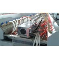 Windows Doors PVC Profile Extrusion Machine , Double Screw Extruder