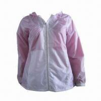 Quality Women's Waterproof Jacket, Customized Sizes Accepted for sale