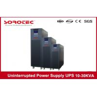 China 10KVA 9KW High Frequency Online Uninterrupted Power Supply , desktop 3 Phase UPS on sale
