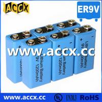 Buy 9V battery 1200mAh smoke detector battery, fire detector battery, long self life at wholesale prices