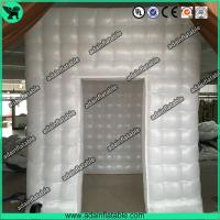Quality Wedding Event Decoration White Inflatable Photo Booth Tent/Advertising Inflatable Tent for sale