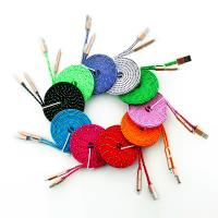 USB TO Micro 5pin+Lightning 8pin 2 in 1 USB Data Sync cable,Aluminum alloy shell, ten kinds of color optional
