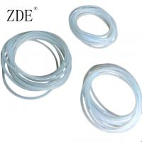Quality High Temperature Vulcanizing Clear Transparent Silicone O-Ring Stock for sale