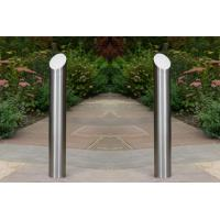 Quality Height 400-700MM Surface Mounted Steel Bollards With Six Diameters Available for sale