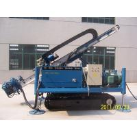 Great Torque Portable Drilling Rigs , Crawler Drilling Machines