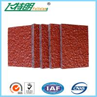 Quality Recycled Synthetic Running Track Surface / Colorful EPDM Plastic Running Track for sale