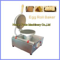 Quality egg-biscuit-roll machine, egg roll making machine for sale