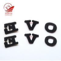 Quality Nylon Hook Loop Printed Alphabet Letters For Clothing , Reusable & Durable for sale