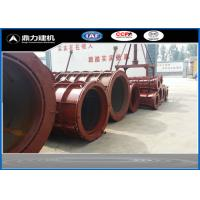 Buy cheap 380V / 50HZ Concrete Tube Mold , Cement Pipe Mould Steel Material from wholesalers