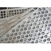 Quality Square Holes Perforated Aluminum Sheet 1060 Thickness 3mm Hole Diameter 0.5-6mm for sale