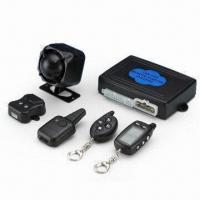 China 2-way Remote Starter Car Alarm System with External Shock Sensor and Low Temperature Engine Starting on sale