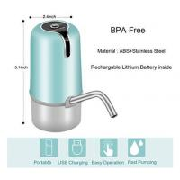 China Lithium Battery Automatic Bottled Water Pump With Food Grade ABS Material on sale
