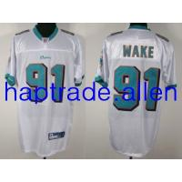 Quality Jerseys Wholesale 100% Nylon Mesh Miami Dolphins #91 Cameron Wake White cheap nice jerseys Wholesale free shipping and mix order for sale