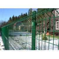 Quality PVC Powder Coated Galvanized Metal Welded Wire Mesh Fence for sale