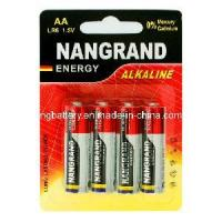 Quality LR6 AA 1.5V Battery Alkaline for sale