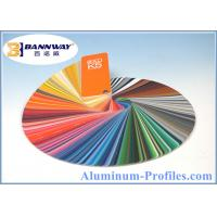 Buy Best Quality Powder Coating Aluminum Profiles with RAL Color at wholesale prices