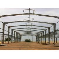 Quality ISO Steel Frame Structure Warehouse Low Carbon Good Plasticity And Toughness for sale