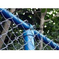 Quality PVC Coated Wire Mesh FencingFlexible Chain Link Fence For Security And Protection for sale