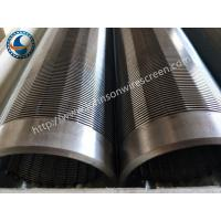 Quality 304 Water Well Screen Pipe , Johnson Wound Screen Convenient Operation for sale