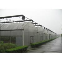 Quality Multi Span Plastic Film Greenhouse For Aquaculture And Livestock Breeding for sale