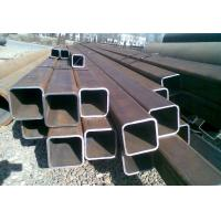 Quality ERW Galvanised Steel Hollow Square Metal Tubing Low Carbon Q345B Grade for sale